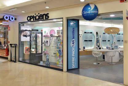 Boutique Clin d'Oeil opticien Belfort