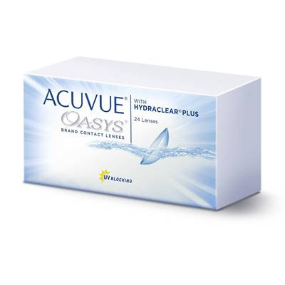 Lentilles de contact Acuvue Oasys with HYDRACLEAR PLUS RO 8,40 (x24)