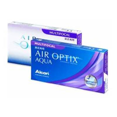 Lentilles de contact Air Optix Plus Hydraglyde multifocale