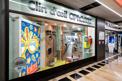 Boutique Clin d'Oeil opticien Nancy