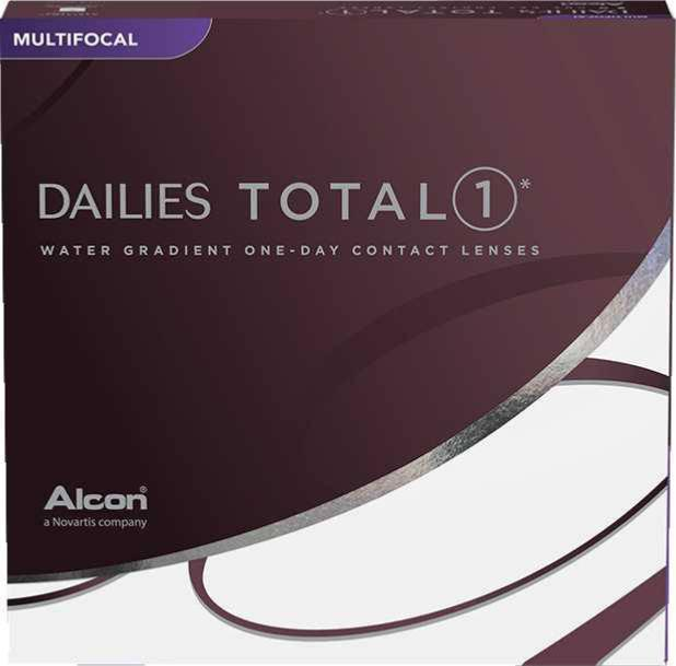 Lentilles de contact Dailies Totale 1 multifocale (x90)
